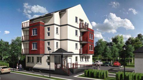 Vizuelizacija stambenog objekta – GSA – Ul. Stevana Šupljikca